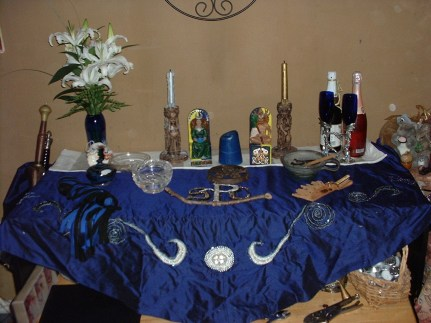Altar for Wedding Anniversary 2006