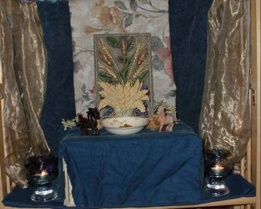 Demeter's altar